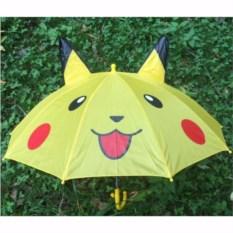 Детский зонт с ушками Пикачу