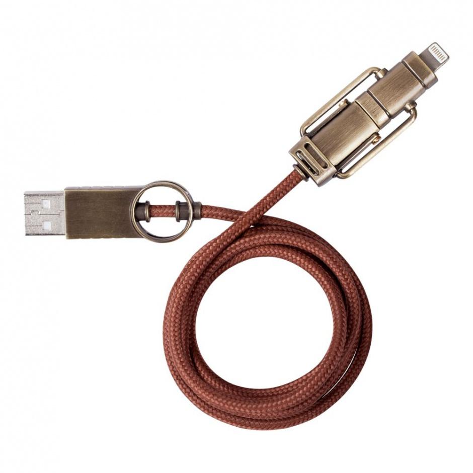 USB кабель 2 в 1 Steampunk