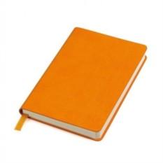 Оранжевый в клетку блокнот URBAN А6