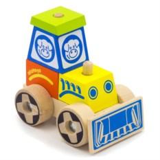 Конструктор-каталка Трактор