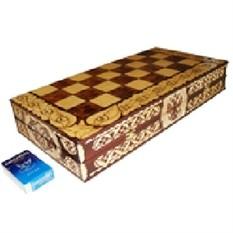 Шахматы резные Русь XL