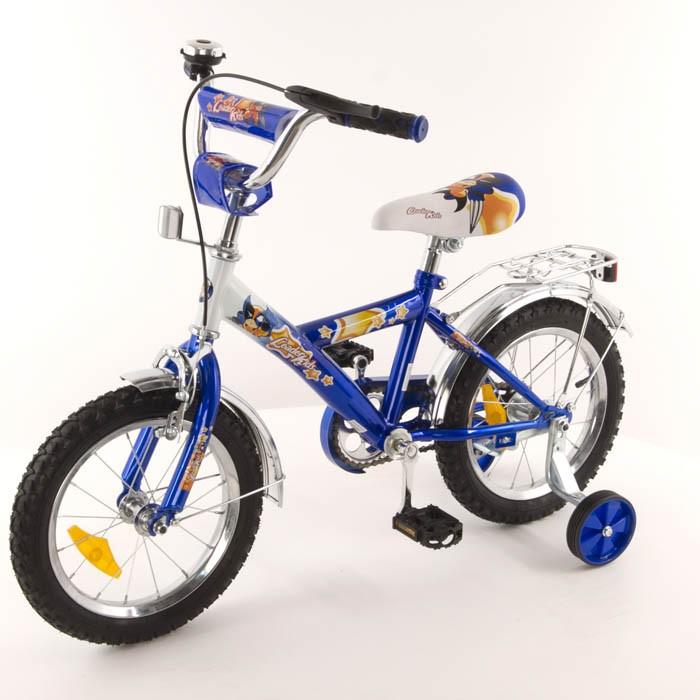 Велосипед Leader Kids G14BD213, цвет: голубой