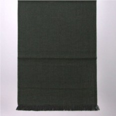 Темно-зеленый мужской зимний шарф Valentino