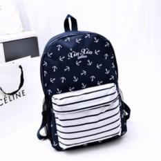 Вместительный рюкзак с якорями