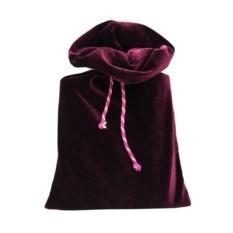 Подарочный бордовый мешок