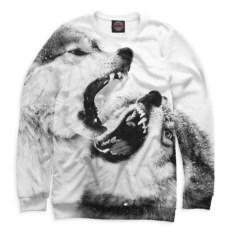 Женский свитшот Print Bar Волки