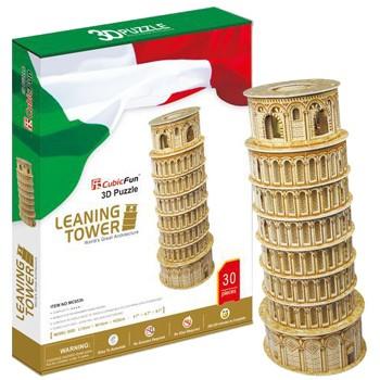 Пазл 3D Cubic Fun Пизанская башня
