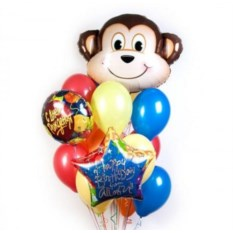 Букет шаров Monkey