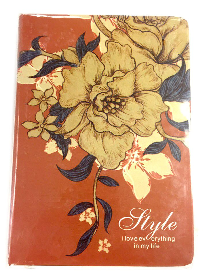Блокнот Style flower