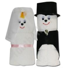 Парные полотенца Жених и Невеста