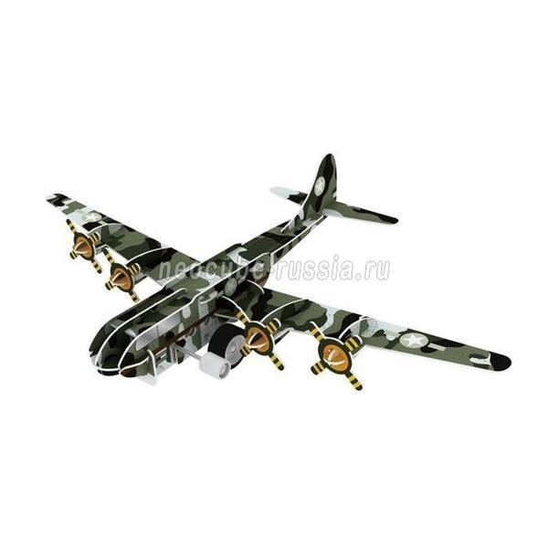 Конструктор 3D Action Puzzle (Экшн Пазл) Авиация