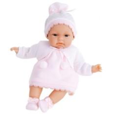 Озвученная кукла-младенец Молли в розовом