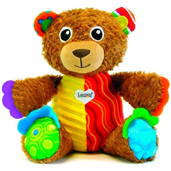 Мягкая игрушка TOMY Lamaze Мой Первый Плюшевый Медвежонок