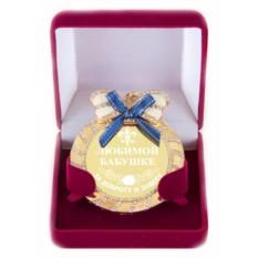 Медаль на цепочке с бантом Любимой бабушке за доброту