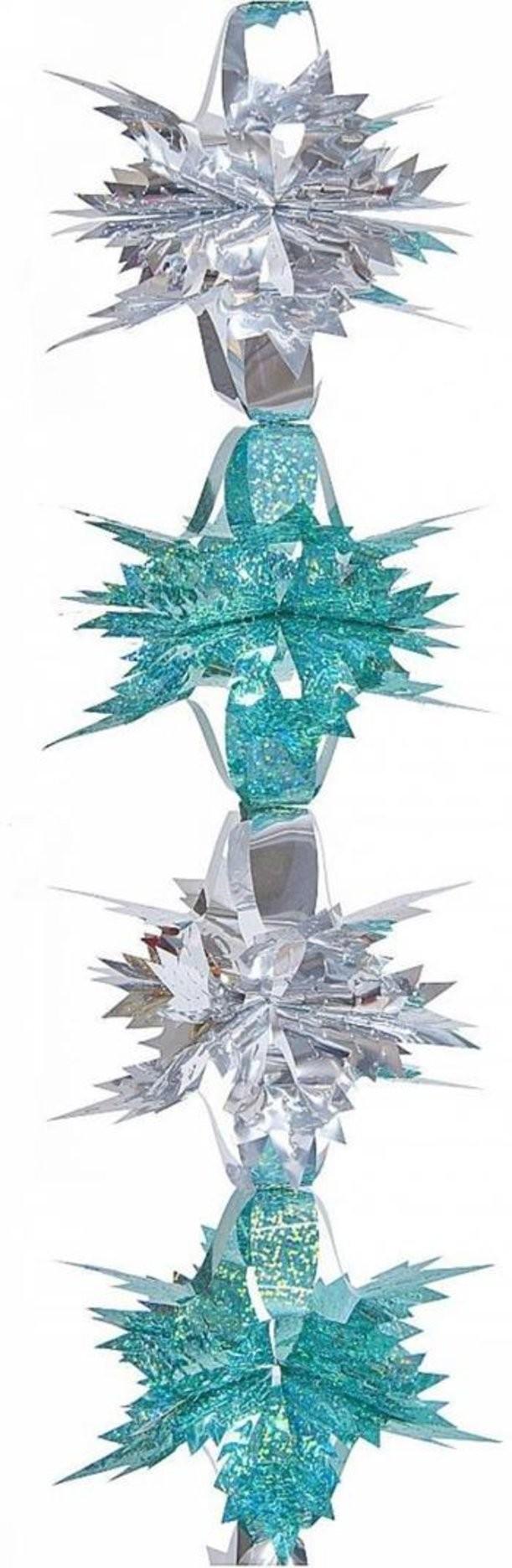 Новогоднее фольгированное украшение Гирлянда