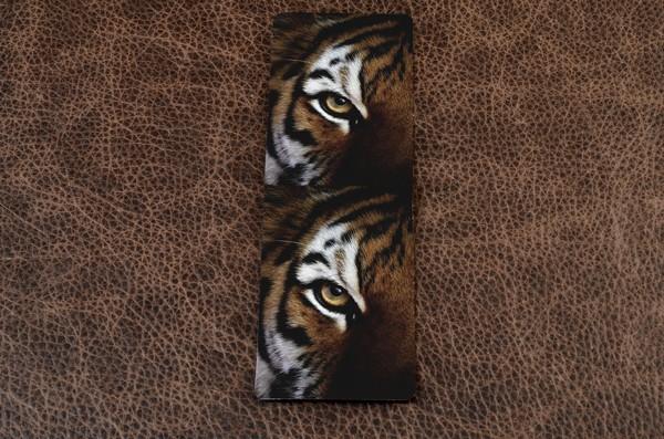 Визитница из кожи Глаз тигра, FELIZ