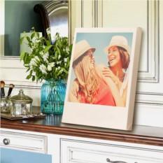 Ваши любимые фотографии на холсте в стиле Polaroid