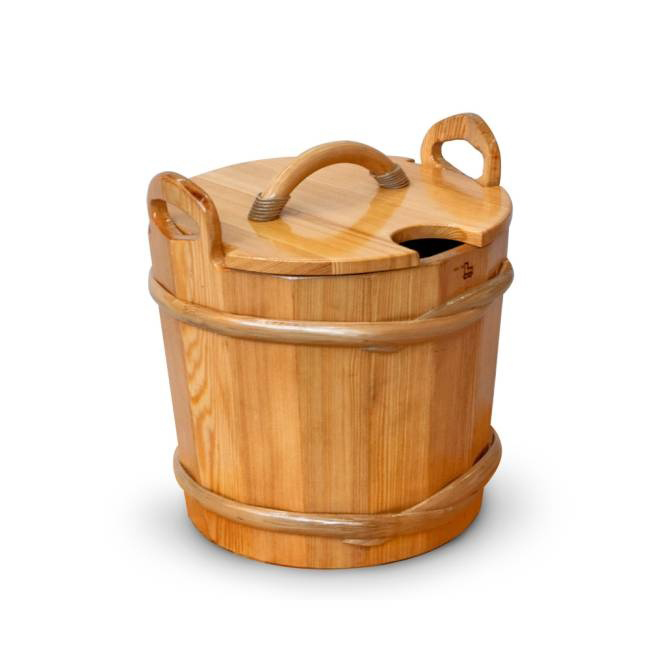 Запарник для бани с крышкой