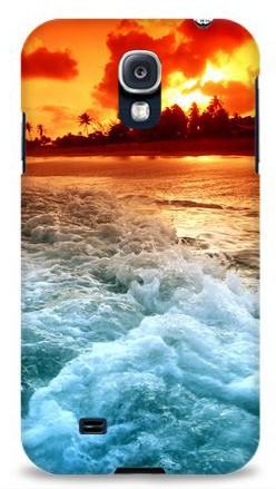 Пластиковая 3D накладка Ocean для Samsung S4 i9500