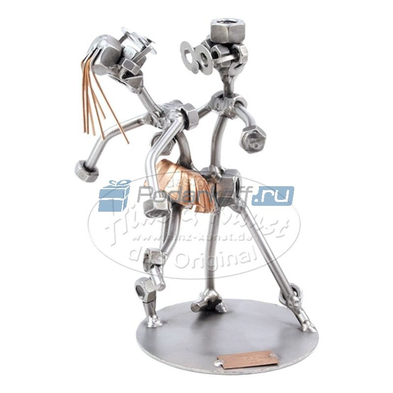 Статуэтка из металла Танцы Рок-н-ролл