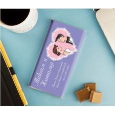 Именная шоколадка «Свадебное пожелание»