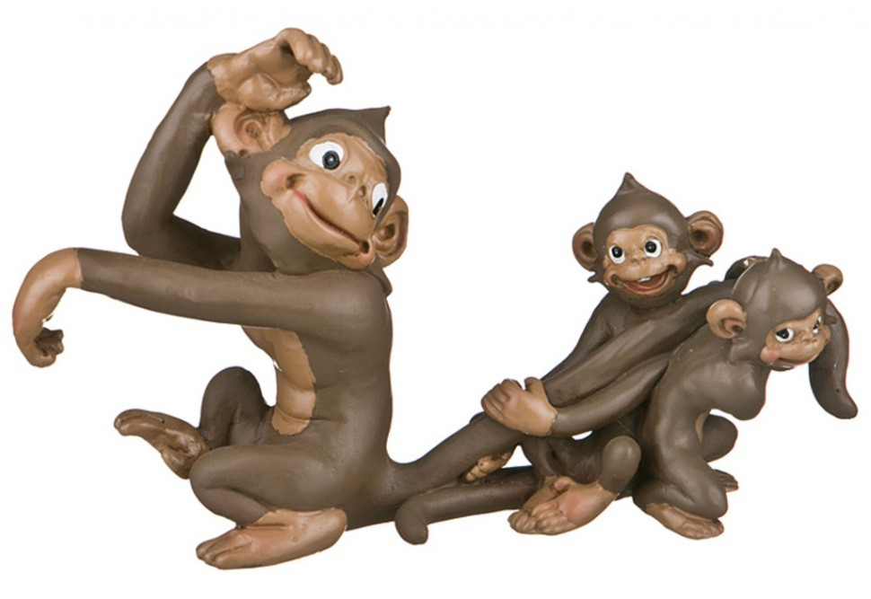 Фигурка Обезьяна и два малыша