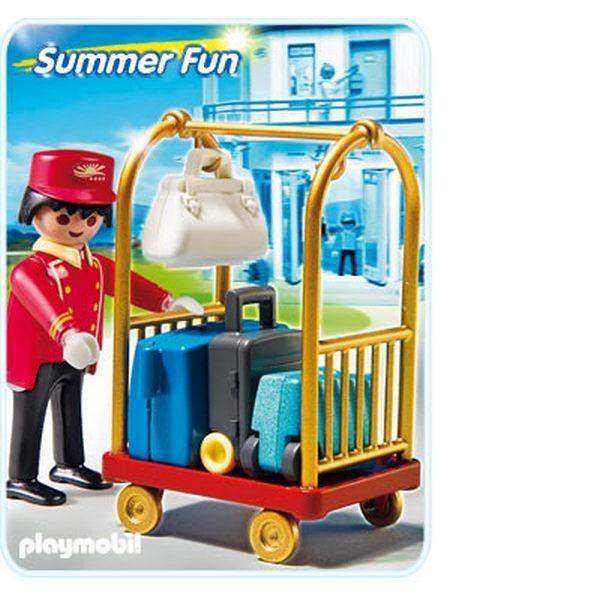 Конструктор Playmobil Summer Fun Носильщик с чемоданами