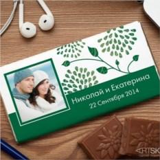 Шоколадная открытка Мы