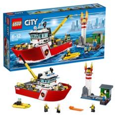 Конструктор Lego City Пожарный катер