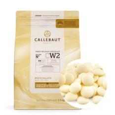 Белый шоколад в галетах Callebaut (2,5 кг)
