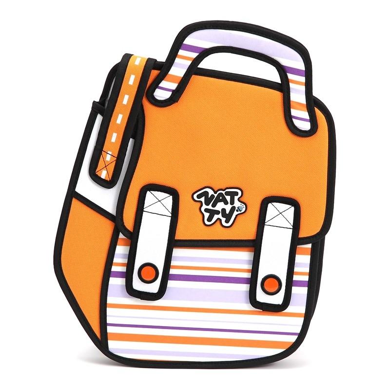 Портфель Мегастиль, оранжевый