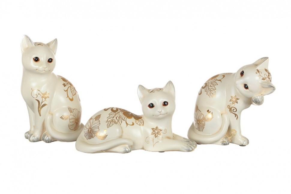 Комплект фигурок кошек Привлечение достатка