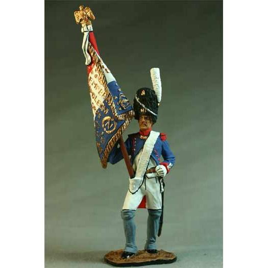 Орлоносец Пеших гренадер Имп. Гвардии. Франция, 1812-14 гг.