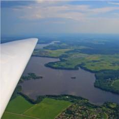 Урок парящего полета на планере Blanik L-13