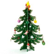 Декоративное украшение Новогодняя ёлочка (20 см)