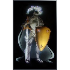 Картина с кристаллами Swarovski Рыцарь круглого стола