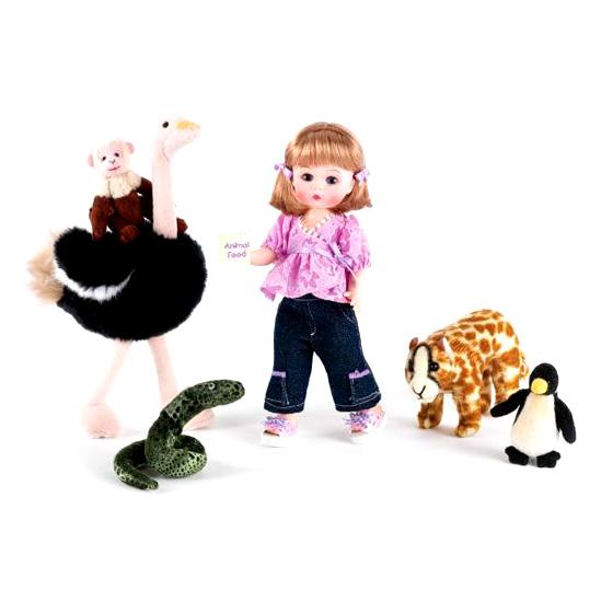 Кукла  «В зоопарке»