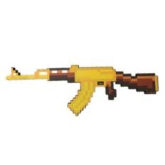Пиксельный автомат AK47 из Minecraft