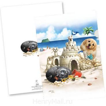 Папка-уголок «Песочный Замок»
