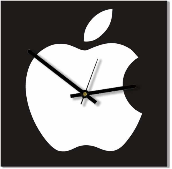 Настенные часы Яблоко
