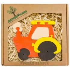 Развивающая игрушка Трактор
