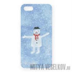 Чехол для IPhone Снеговик