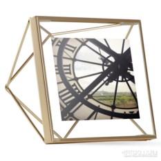 Золотистая фоторамка Prisma 10х10 см