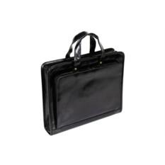 Черный кожаный портфель VIP Collection
