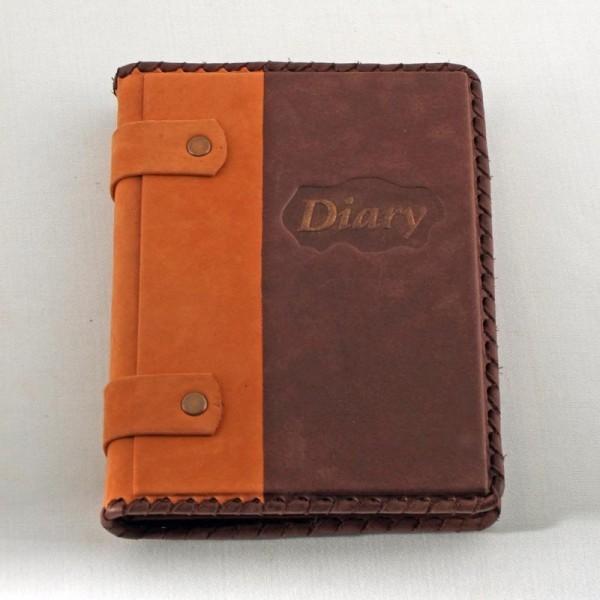 Ежедневник малый в кожаной обложке Diary