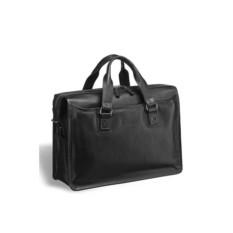 Деловая черная сумка для документов Nelson