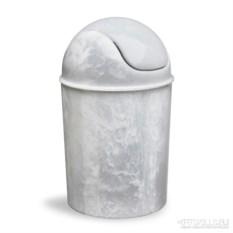 Корзина для мусора с крышкой mini (цвет: оникс)