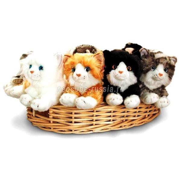 Мягкая игрушка в ассортименте Лежащая кошка