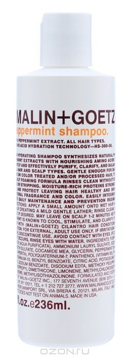 Шампунь Мята Malin+Goetz, для всех типов волос, 236 мл