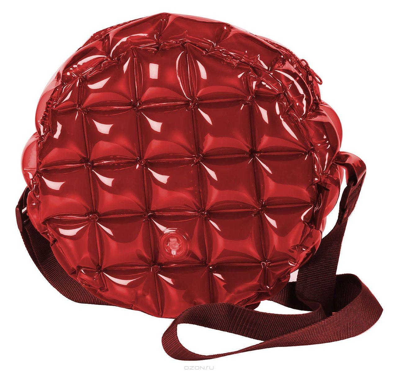 Надувная сумка Inflat Decor, цвет: бордовый